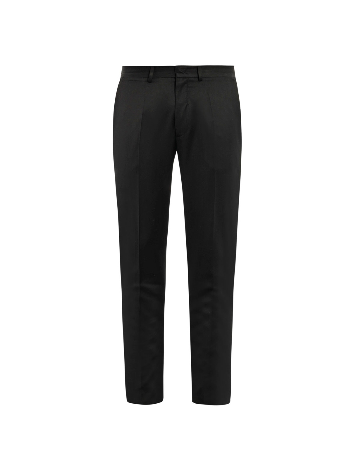 Sienna Peg Leg Trousers. two side pockets. Black burnout-style trousers. and black lining underneath. 28