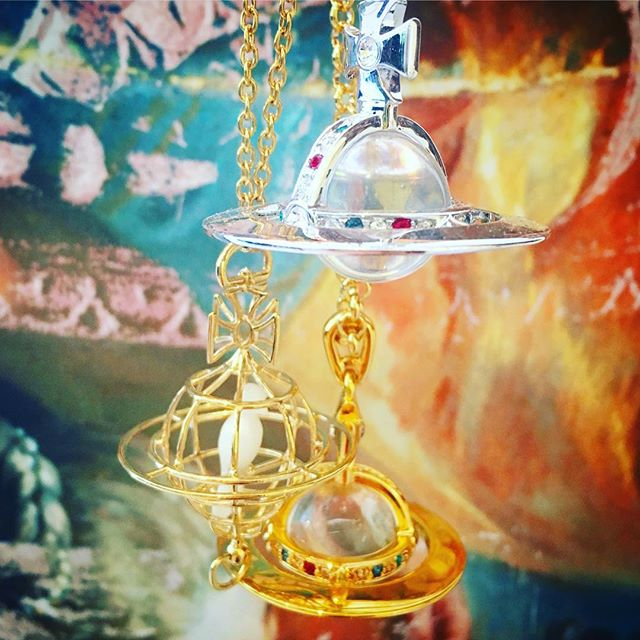 Various beautiful Orb pendants from Dame Viv at Pour Tous now plus our McQ Alexander McQueen sale continues ️Shop our insta- Link in our Bio #10702