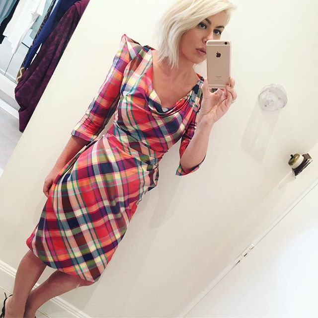 This tartan dress from Vivienne Westwood is perfection for the festive season, bring on the Christmas parties
