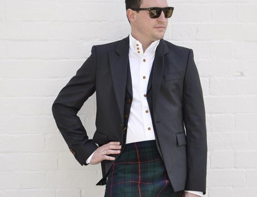 What to wear to that Christmas party? We think a Vivienne Westwood waistcoat jacket and Krall shirt plus the family tartan kilt is a great option 🏻Shop our insta- Link in our Bio #10904