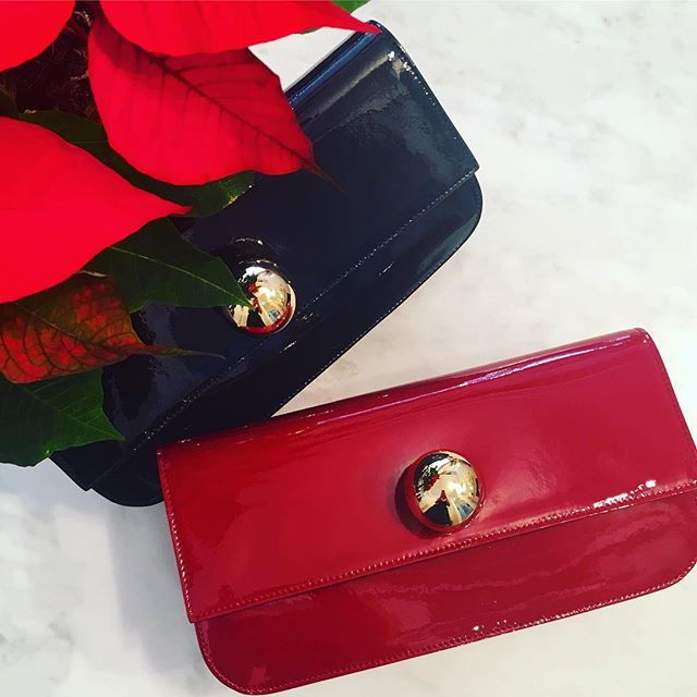 A fabulous festive accessorie, Vivienne Westwood Mirror ball clutch in Black  or Bordeaux 🍾 Available in store and online now, go to www.pourtous.com.au or shop the POUR TOUS Instagram via the link in our bio #11053