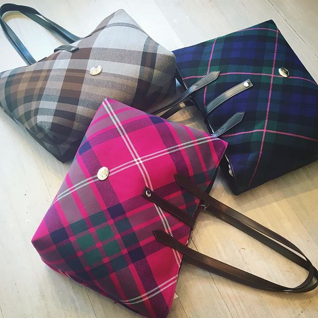 All I want for Christmas is a Westwood tartan tote Shop our insta- Link in our Bio #11051