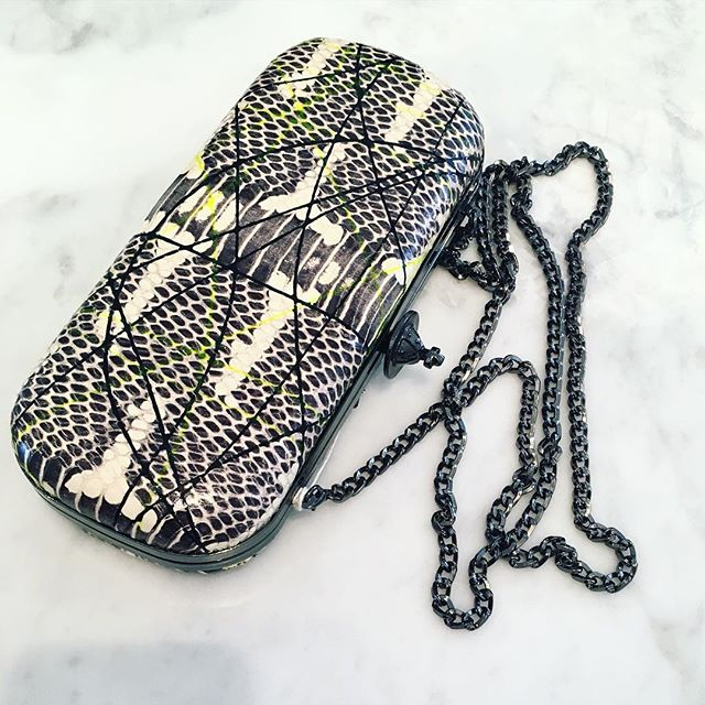 The fabulous pollock clutch with detachable chain by Vivienne Westwood is included in our Sale was $550 now $330 🏼🏼