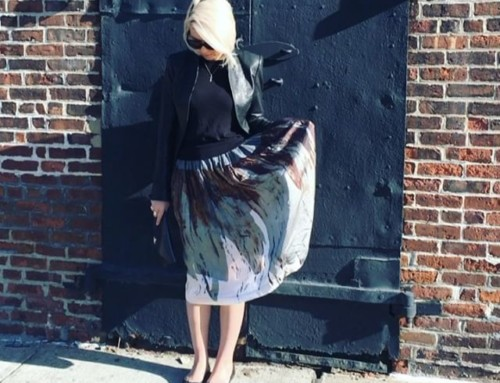 Another beautiful beautiful day here in  NYC. Vivienne Westwood Anglomania Ream Skirt in store now at Pour Tous Shop our insta- Link in our Bio #11091