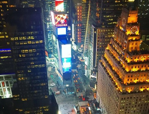 Our friend @evaluzion has a pretty amazing view from his office in NYC