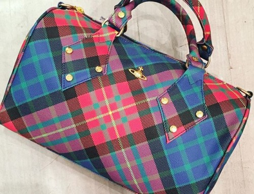 This fabulous Vivienne Westwood Derby bag in Mac Charles tartan was $740 now $370 in our clearance sale ️Shop our insta- Link in our Bio #10754