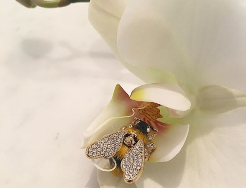 Just adore this little guy  Vivienne Westwood Bumble Brooch at Pour Tous  Shop our insta- Link in our Bio #11342