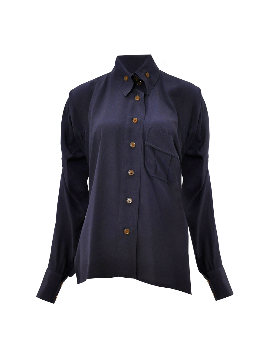 Silk Shirt Womens