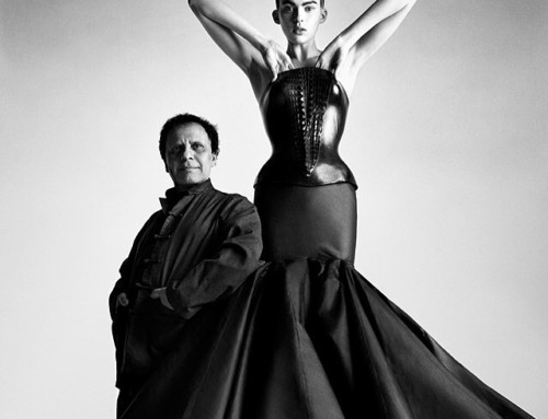 RIP Azzedine Alaïa. A true visionary, an enormous loss to the fashion world, heartbroken