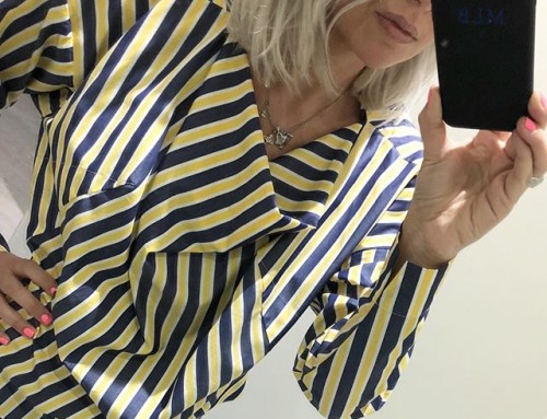 Was $460 now $230 in our clearance, this lovely Wilma top from Vivienne Westwood is a great casual or work option on a warm summers day ️ shop now link in our bio #11656