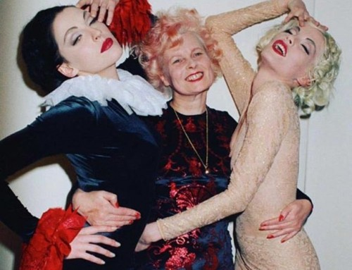 All kinds of fabulous, Susie Bick, Vivienne Westwood and Sara Stockbridge. Happy Friday!