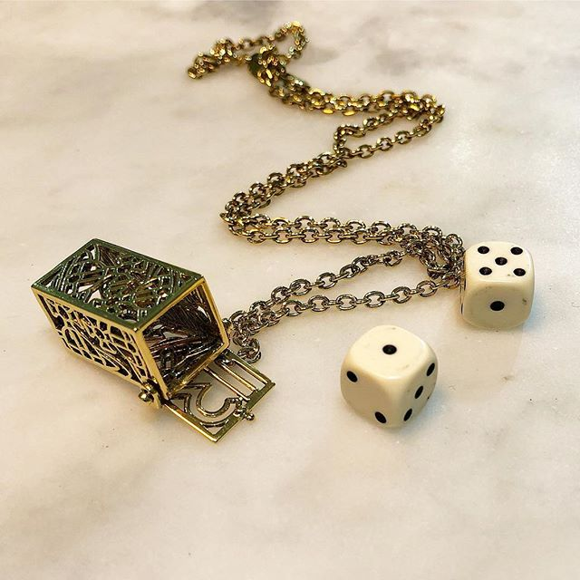 Was $260 now $130. Hendrix Dice pendant by Vivienne Westwood  shop now link in our bio #11667