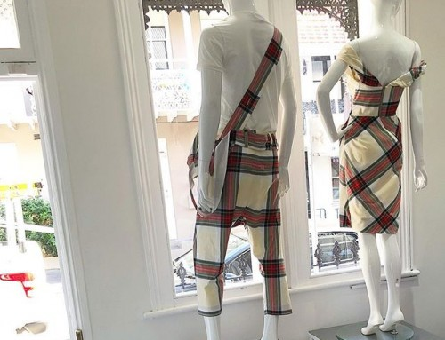 His and hers Vivienne Westwood tartan in our window for this sunny Saturday on beautiful William Street Paddington ️️ shop now link in our bio #11920