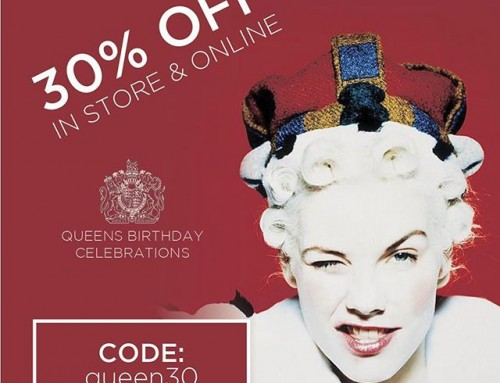 S A L E – Queens Birthday Celebrations! Use code 'queen30' at checkout or visit our Paddington store.