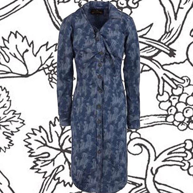 70% off! Was $790 now $237. Vivienne Westwood Anglomania Alcoholic dress Shop now link in our bio #11804